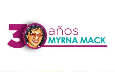 Conmemoración 30 años Myrna Mack