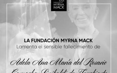 Esquela Adela Ana María del Rosario Camacho Sinibaldi de Torrebiarte