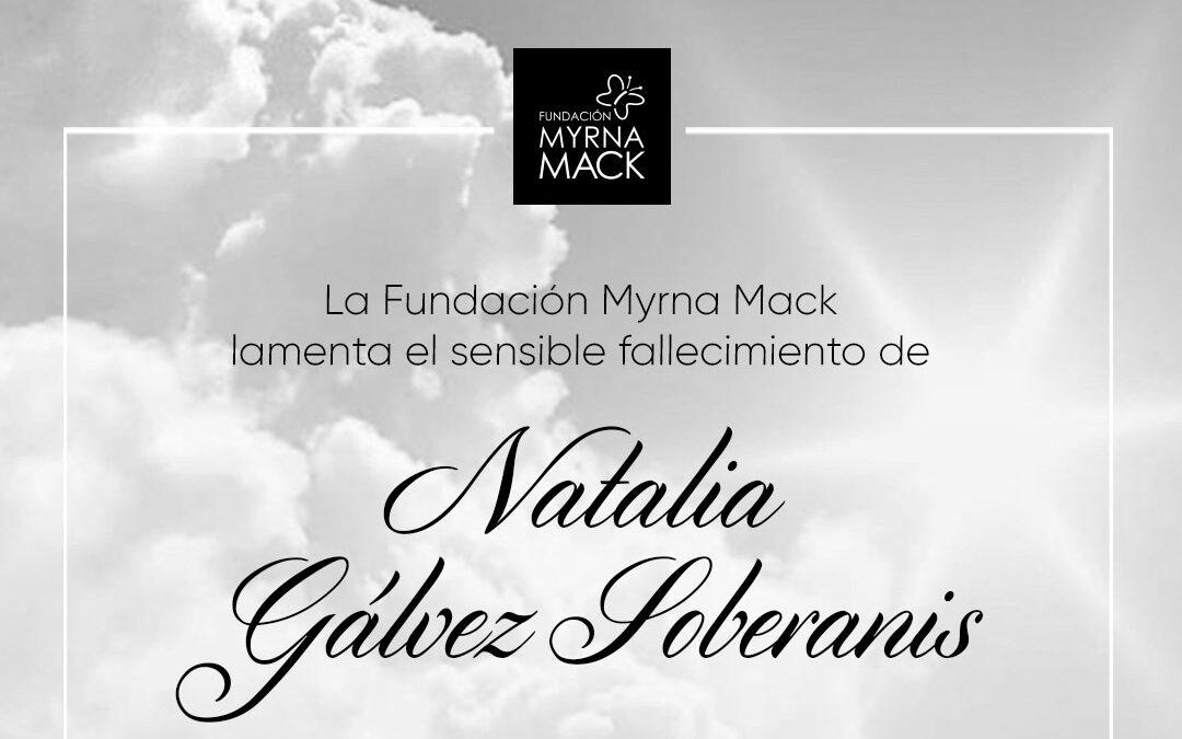 Esquela Natalia Gálvez Soberanis