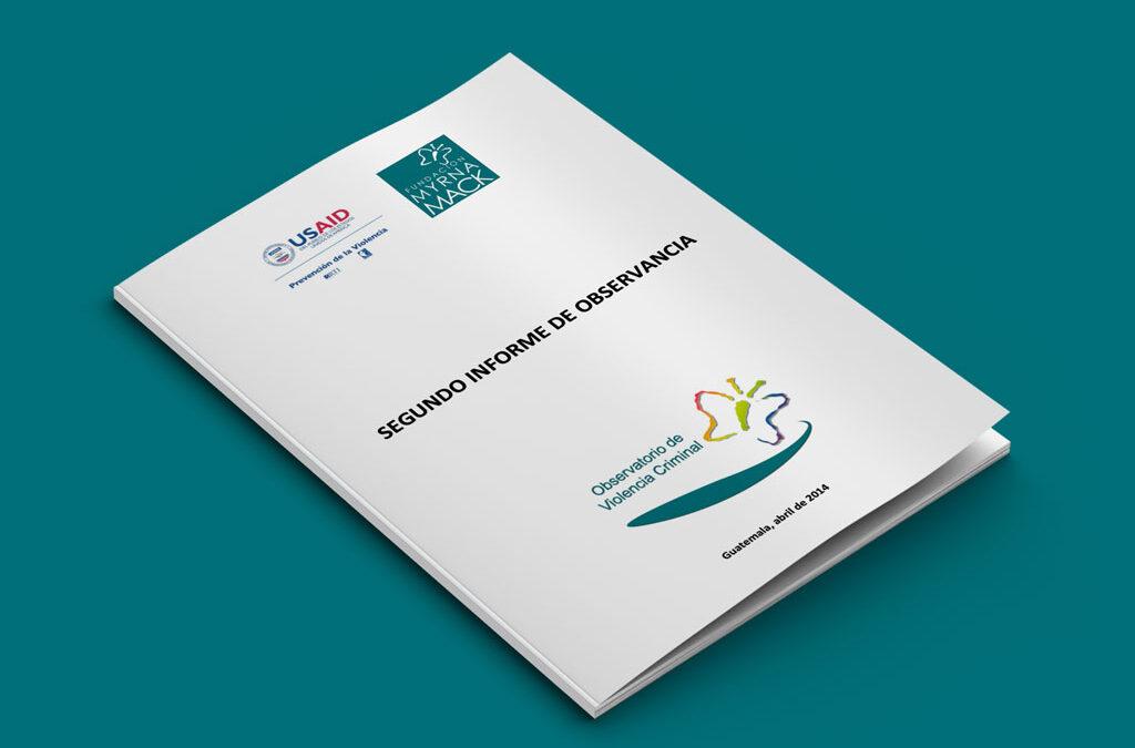 Segundo informe de observancia 2013-2014