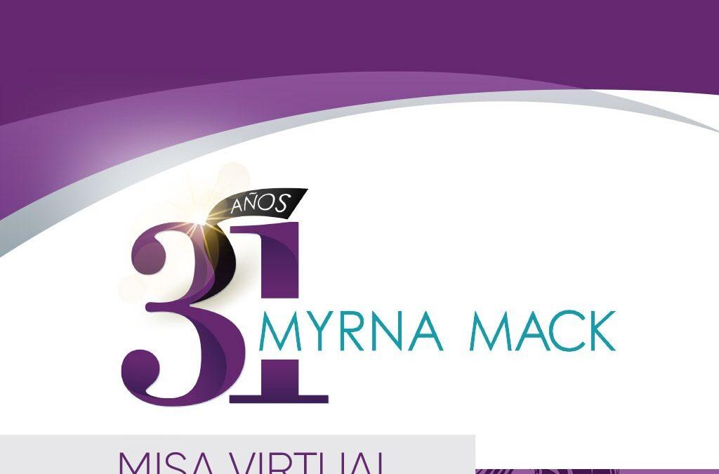 Misa conmemorativa por los 31 años del asesinato de Myrna Mack