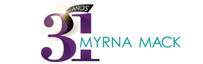 Logo 30 años Myrna Mack