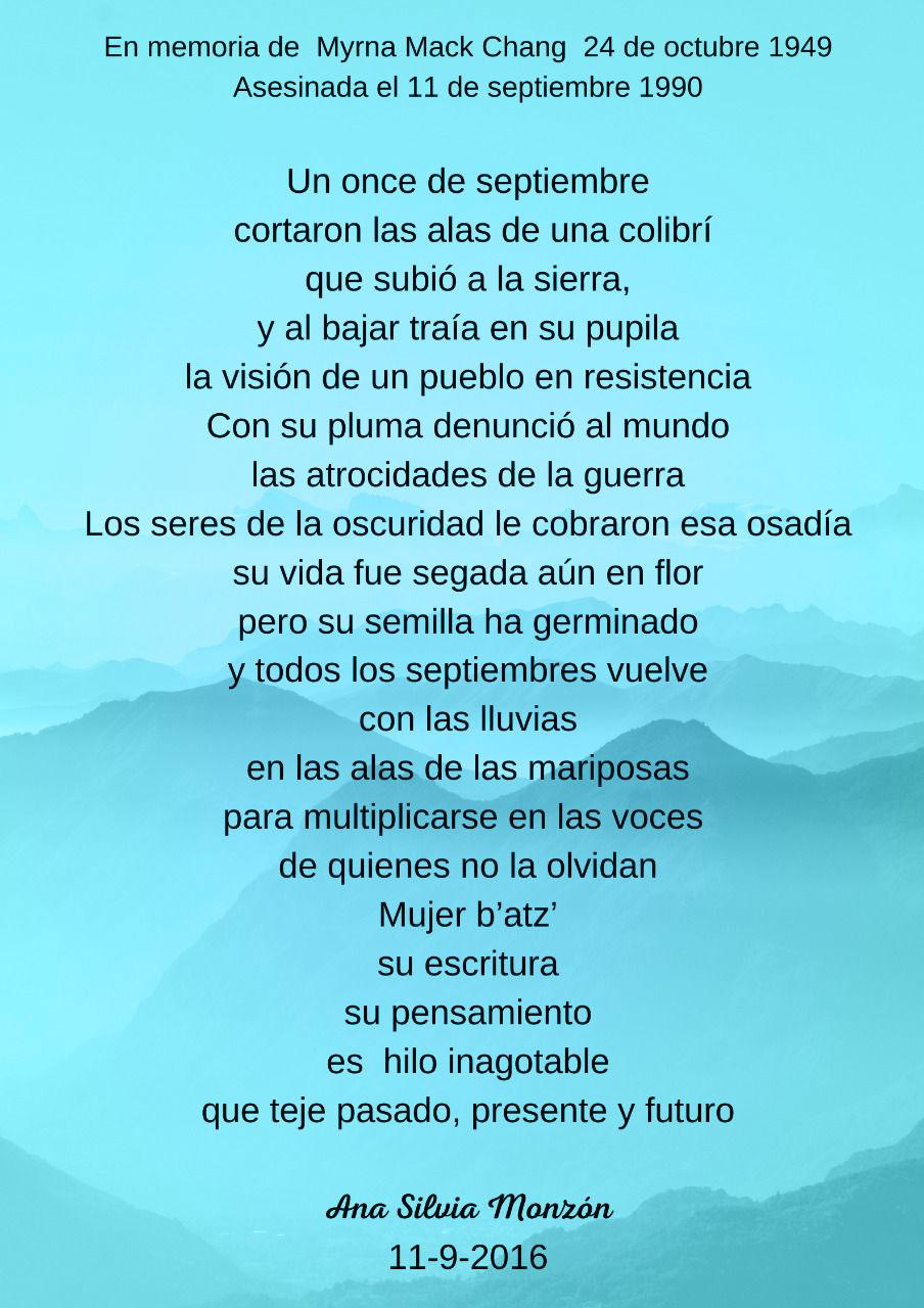 Poema Ana Silvia Monzón
